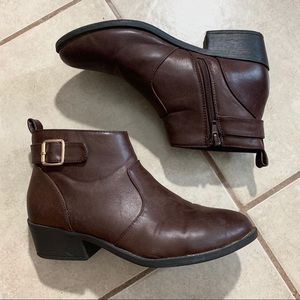 Forever 21 Brown Ankle Boots